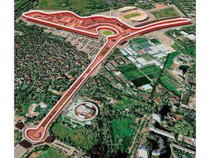 Thi công M&E đường đua F1 Hà Nội