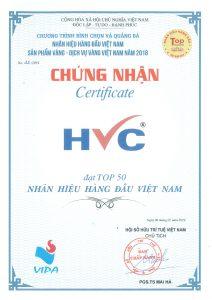 TOP 50 Nhãn hiệu hàng đầu Việt Nam năm 2018
