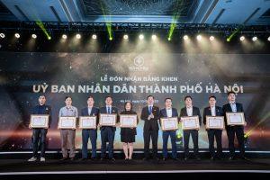 Năm thứ 2 liên tiếp HVC Group nhận bằng khen của Chủ tịch UBND TP Hà Nội