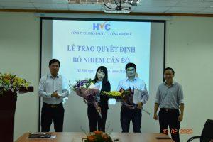 HVC ME bổ nhiệm tân phó giám đốc